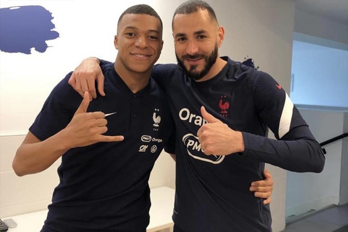 Real muốn tái hợp cặp tiền đạo Benzema và Mbappe
