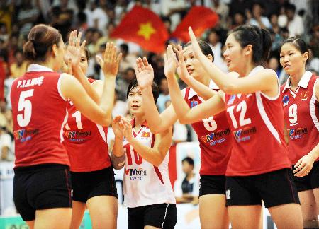 Tuyển bóng chuyền nam Việt Nam cạnh tranh với đối thủ nào ở SEA Games 29 ?
