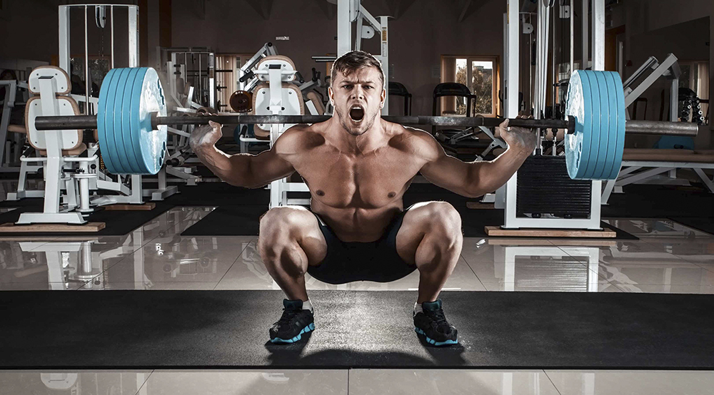 squat-barbell-power-strength-Crossfit