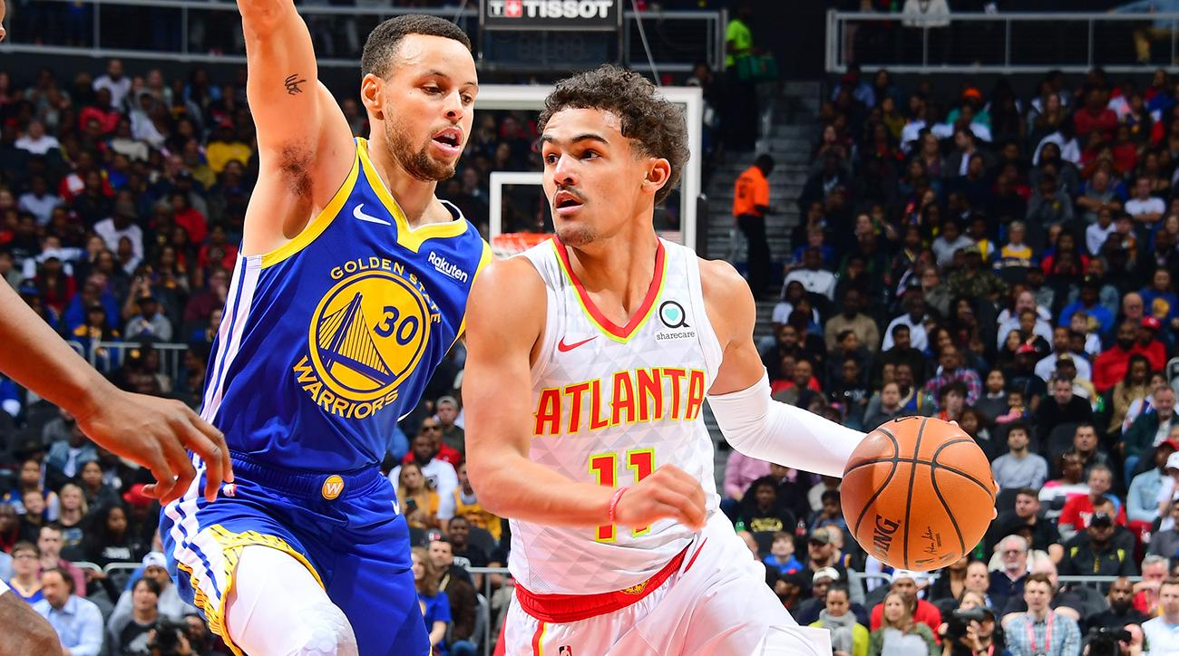 trae-young-stephen-curry-hawks-warriors