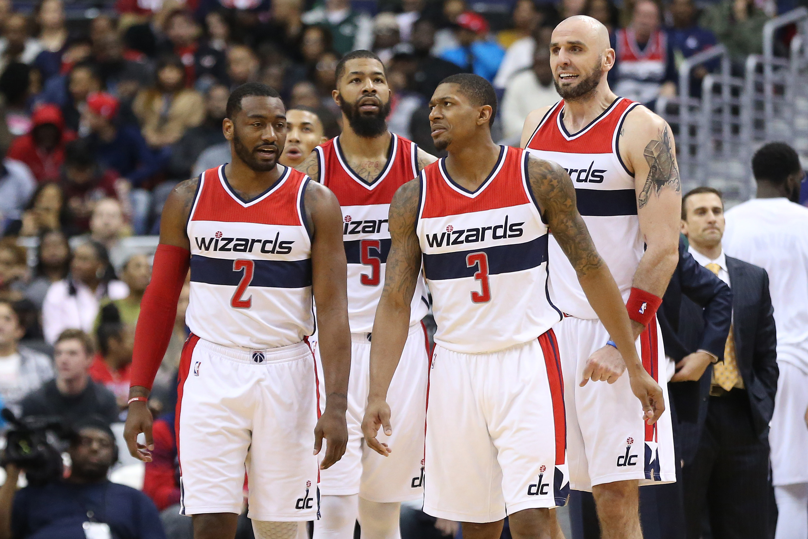 Washington-Wizards-starters-home-uni-John-Wall-Bradley-Beal-Marcin-Gortat