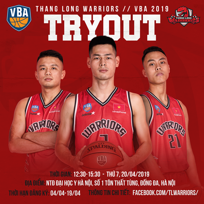 TLW VBA 2019 Tryout
