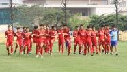 Vắng Quang Hải, Văn Hậu, Đình Trọng... U23 Việt Nam vẫn miệt mài rèn quân