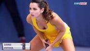 Video những tân binh đẹp 'nghiêng nước, đổ thành' ở WTA 2018