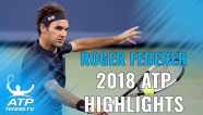 Video những pha bóng đỉnh nhất của Federer ở mùa giải 2018