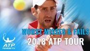 Video những pha bóng tệ nhất ở ATP Tour 2018