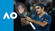 Video Federer thắng tốc hành ở vòng 3 Australian Open
