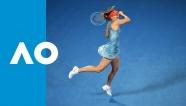 Video Wozniacki thành cựu vương Australian Open dưới tay Sharapova