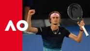Video Alexander Zverev thắng nhàn ở vòng 3 Australian Open