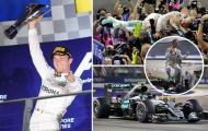 Hulkenberg nát xe sau xuất phát, Rosberg thắng chặng Singapore