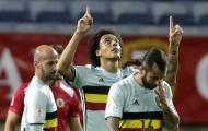 Benteke lập hat-trick, Bỉ huỷ diệt Gibraltar bằng một set tennis