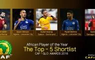 Ai sẽ ẵm danh hiệu Cầu thủ châu Phi xuất sắc nhất năm?