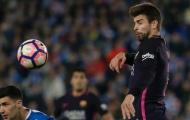 Pique lại gây chiến với CĐV Espanyol và Real Madrid