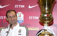 Allegri: Juventus có 20 ngày để hoàn tất cú ăn ba lịch sử