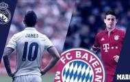 James Rodriguez: Thêm một số 10 thất bại của Real Madrid