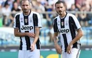 Chiellini: 'Bonucci chẳng phải là một mất mát lớn'