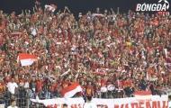 Chùm ảnh: Dàn cổ động viên hùng hậu của U22 Indonesia