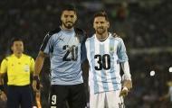 Truy cản Messi đến rách áo, Uruguay chia điểm trên sân nhà trước Argentina