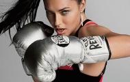 Adriana Lima - Thiên thần nội y cực kỳ yêu thích boxing