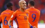 Robben cay đắng: 'Hà Lan hết cơ hội dự World Cup'