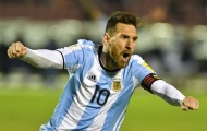 'Đấng Messi' gánh cả Argentina đến World Cup 2018