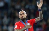 Vidal phủ nhận thông tin giã từ tuyển Chile