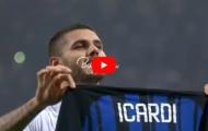 Mauro Icardi chơi tuyệt hay trước AC Milan
