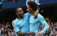 Raheem Sterling & Leroy Sané - 'Máy chạy' của Man City