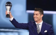 Lộ tin Ronaldo nhận giải 'The Best' 2017 của FIFA