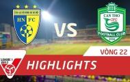 Hà Nội FC 4-0 XSKT Cần Thơ (Vòng 22 V-League 2017)
