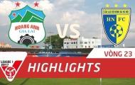 Hoàng Anh Gia Lai 3-2 Hà Nội FC (Vòng 23 V-League 2017)