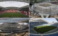Chiêm ngưỡng những sân vận động hoành tráng đón World Cup 2018