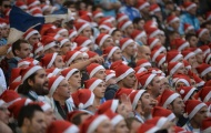 Những bức ảnh 'hiếm có khó tìm' ngày giáng sinh của thế giới bóng đá