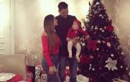 Sao bóng đá thay nhau khoe ảnh Giáng sinh ấm áp bên gia đình