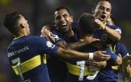 Carlos Tevez chói sáng trong lần thứ 3 ra mắt Boca Juniors