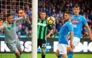 23h00 ngày 31/3, Sassuolo vs Napoli: Được đá trước rồi đấy Sarri