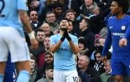 NÓNG: Aguero ngồi ngoài đại chiến Liverpool - Man City