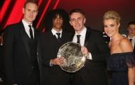 Tiểu 'Gullit' giành giải thưởng xuất sắc nhất đội trẻ Man Utd