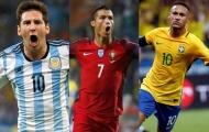 Năm ứng cử viên sáng giá nhất cho danh hiệu vua phá lưới World Cup 2018