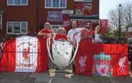 Fan cuồng Liverpool biến nơi ở thành Anfield thu nhỏ