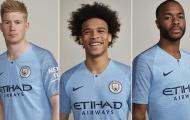 Vô địch Premier League, Man City thay áo mới
