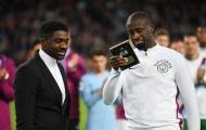 Yaya Toure không giấu nổi nước mắt ngày chia tay Man City