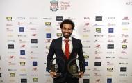 Gala trao giải cuối năm của Liverpool: Mohamed Salah 'mỏi tay' nhận quà