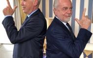 Chủ tịch De Laurentiis chào mừng Ancelotti đến với Napoli