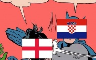 Cười té ghế với loạt ảnh chế về thất bại của tuyển Anh