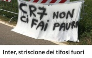 Ronaldo vừa tới Juventus, Fan Inter đã kéo đi hăm dọa