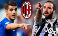 Góc AC Milan: Morata và Higuain sẽ là những chữ ký 'lệch pha'?