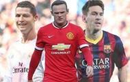 Rooney trả lời dứt khoát ai xuất sắc hơn giữa Ronaldo và Messi
