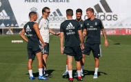 Real Madrid chào đón sự trở lại của các trụ cột