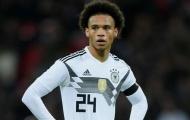 Leroy Sane được tuyển Đức triệu tập lại